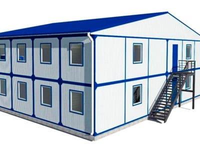 Главные особенности и свойства быстровозводимых зданий.