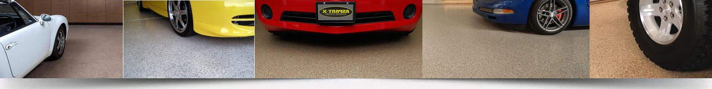 Резиновое покрытие для гаражей.