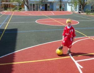 покрытие детских спортивных площадок