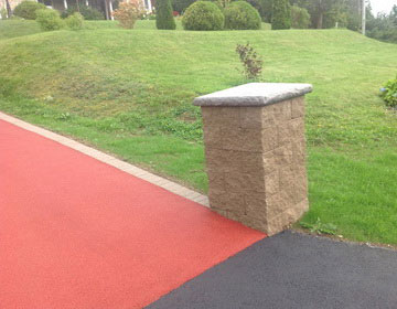 резиновые покрытия для сада