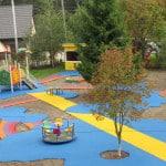 Покрытие для детских площадок Москва.