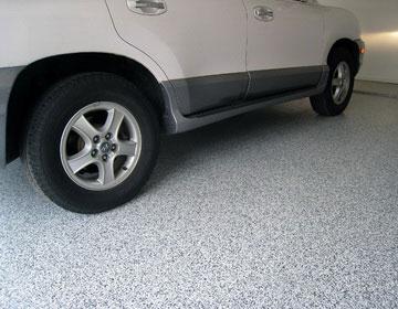 Резиновое покрытие для пола гаража