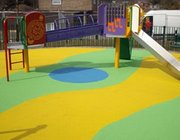 напольное покрытие для детских площадок