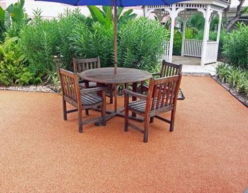 Садовое резиновое покрытие
