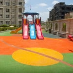 Детские резиновые площадки.