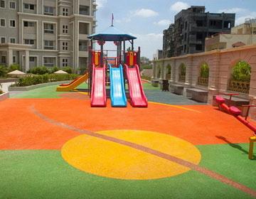 детские резиновые площадки