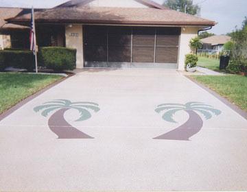 резиновое покрытие для двора.