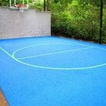 Спортивные площадки для дачи из каучука.