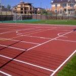 Детские спортивные площадки.