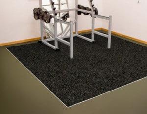 Резиновые покрытия для тренажерных залов.