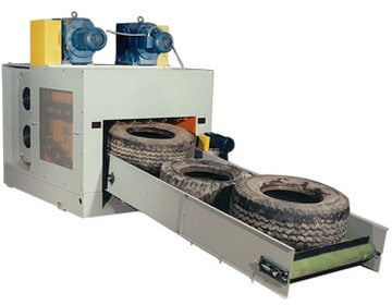 Оборудование для производства резиновой крошки.