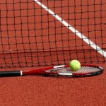 Спортивные покрытия из крошки со связующим.