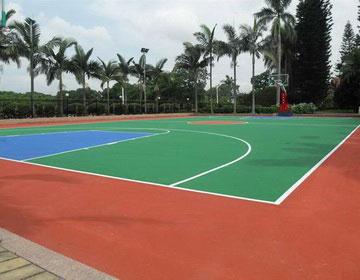 Резиновые спортивные площадки.