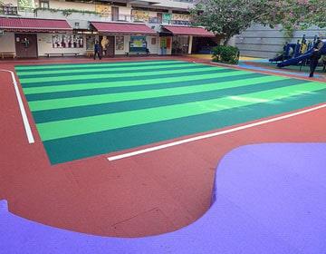 Резиновое покрытие для детских площадок, цены.