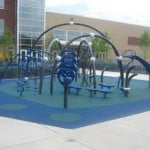 Детская спортивная площадка для улицы.
