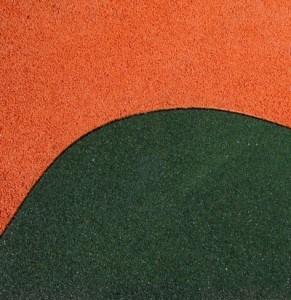 Цветная резиновая крошка