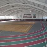 Спортивное резиновое покрытие для зала.