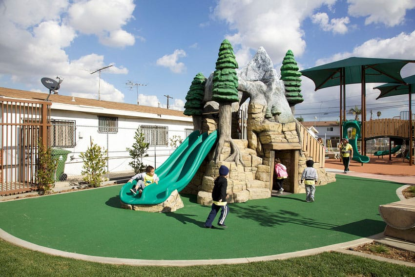 Мягкая детская площадка.