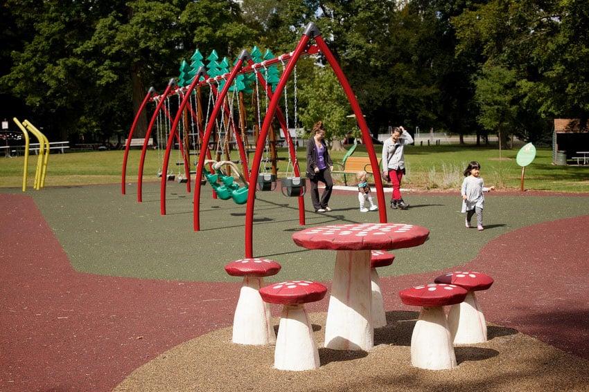 Игровая мягкая детская площадка.