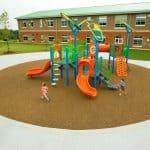Крошка для покрытия детских площадок.