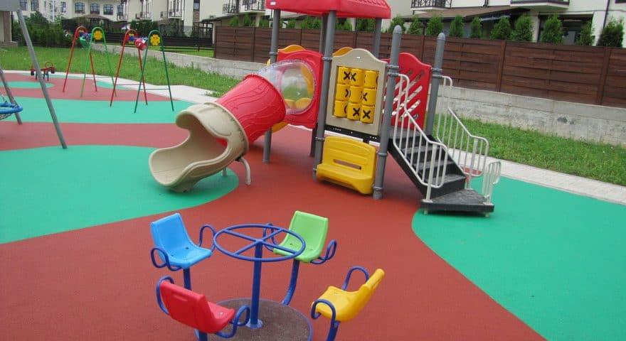 Покрытие в детский сад.