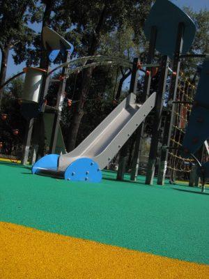 Наливное покрытие детских площадок.
