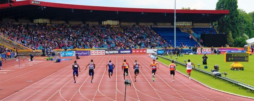 Спортивные беговые покрытия.