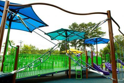 Лучшее покрытие для детской площадки.