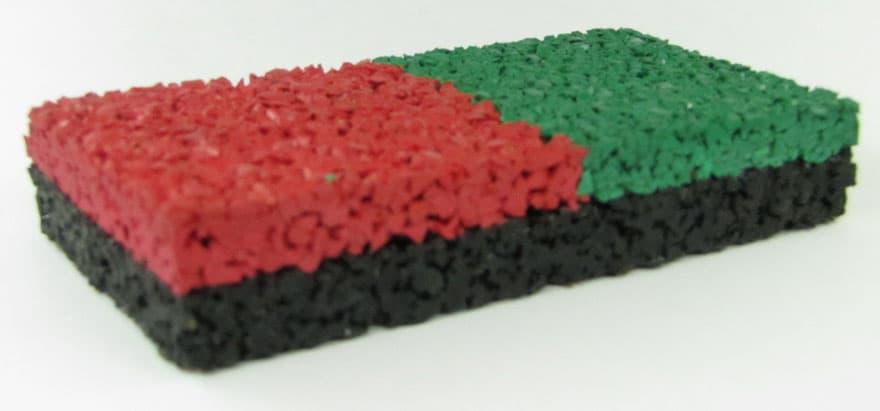 Покрытия из цветной крошки.