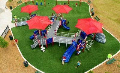 Покрытие детских площадок стоимость.