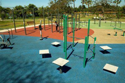 Покрытие спортивных площадок из резиновой крошки.