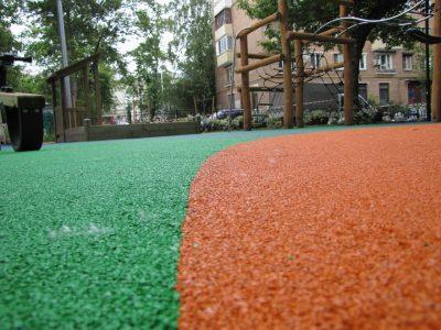 Резиновые площадки купить в Москве.