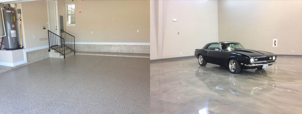 Наливной пол для гаража.