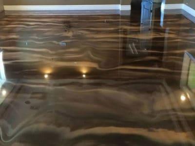 Полимерный бетонный пол.