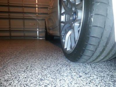 Эпоксидный пол гаражный.