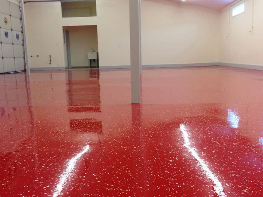 Эпоксидное покрытие для бетонного пола.