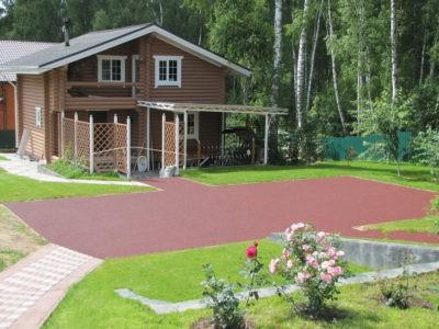Резиновое покрытие для дачи и дома.