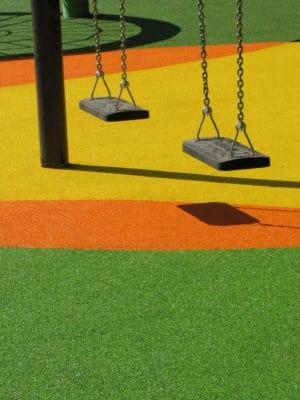 Цена на покрытие детских площадок.