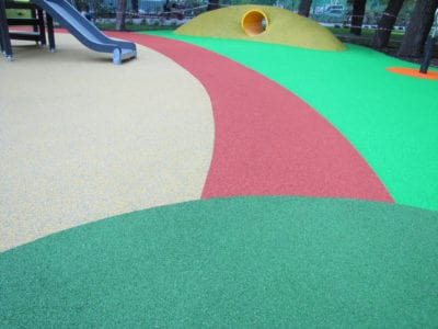 Цена на резиновое покрытие детских площадок.