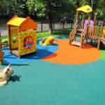 Мягкие покрытия для детских площадок.