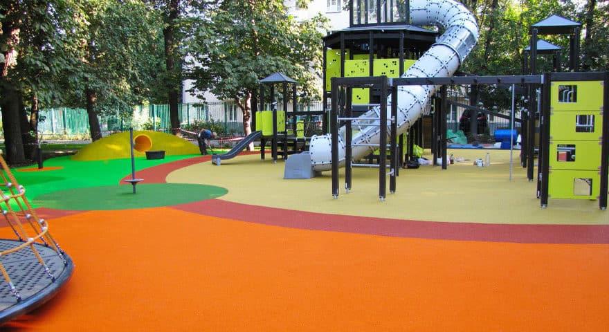 Покрытие для детской игровой площадки