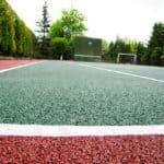 Резиновые спортивные полы.