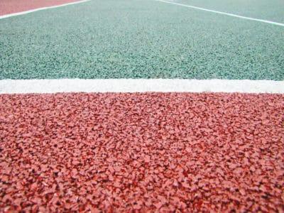 Цены на устройство резиновых покрытий волейбольных площадок.