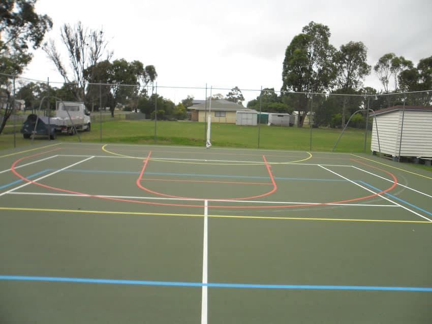 Спортивные покрытия для открытых площадок.