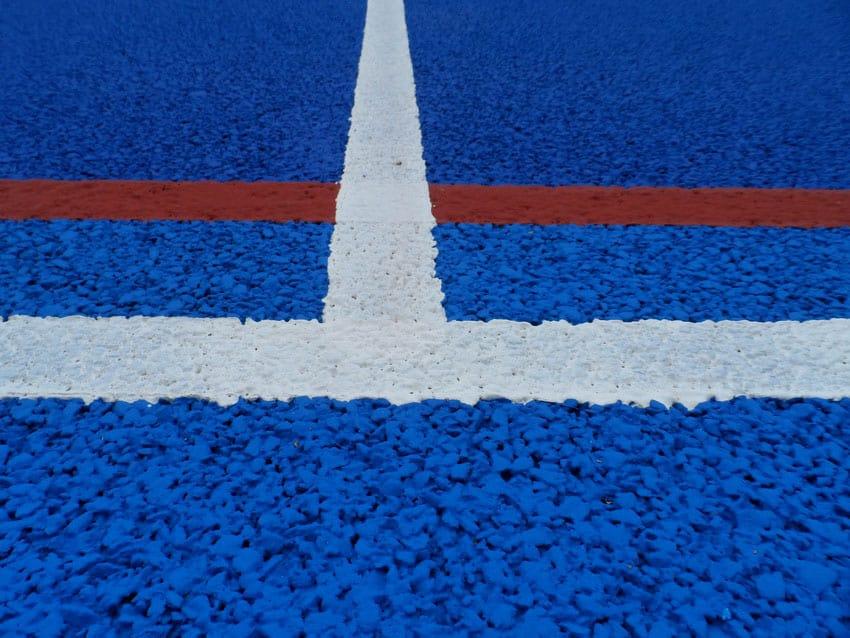 Резиновые напольные покрытия для спортзалов.