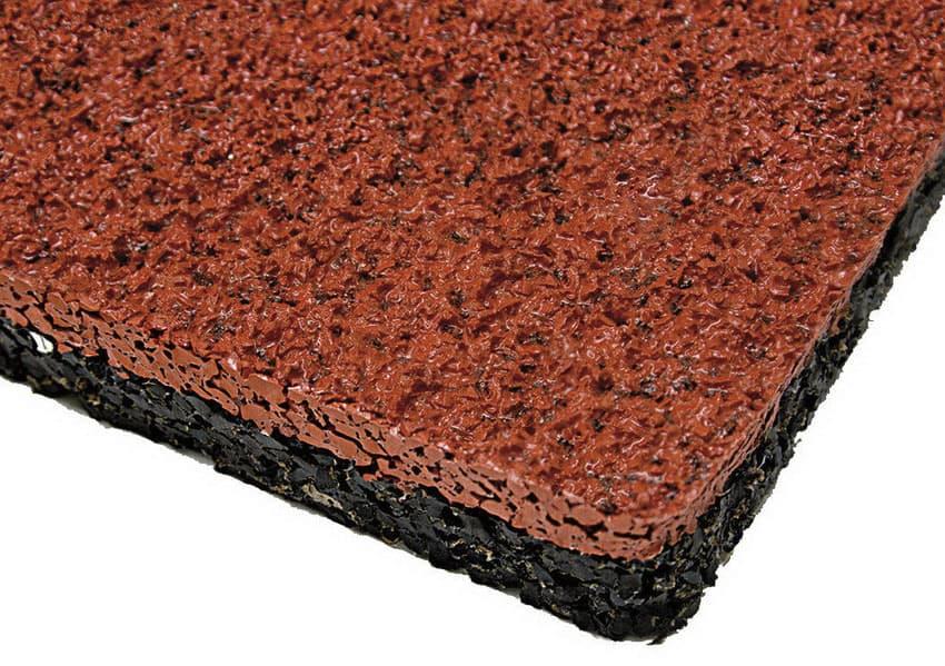 Наливное резиновое покрытие.